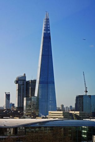 The Shard London Bridge. (image: Wikipedia Commons)