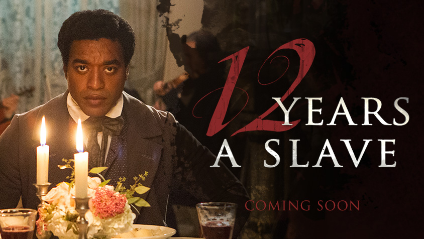 Solomon Northrup, a free man, is kidnapped and sold into slavery in Steve McQueen's 12 YEARS A SLAVE, based on a true story.