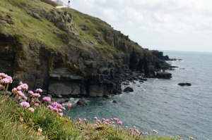 Lizard Point, a fine example of the beautiful Cornish coast.