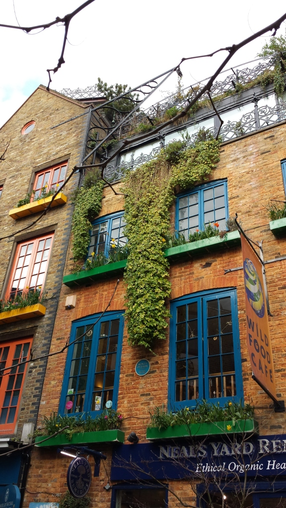 Some of the prettiness in Neal's Yard.