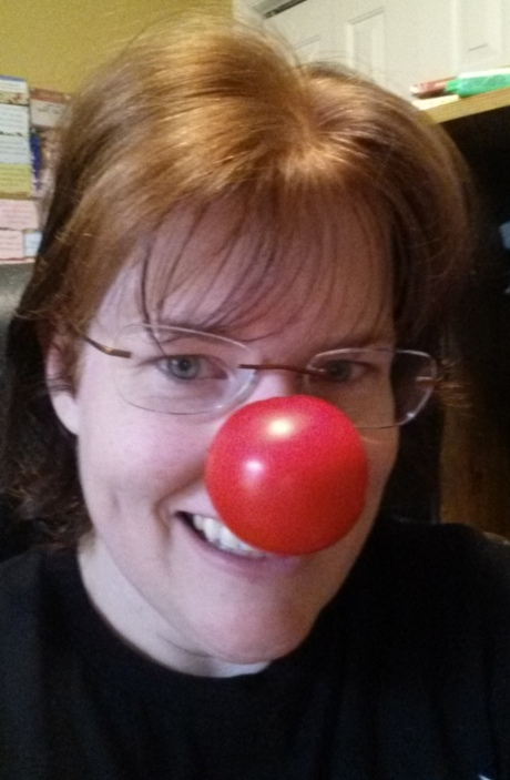 It's me with the red nose to help children living in poverty.