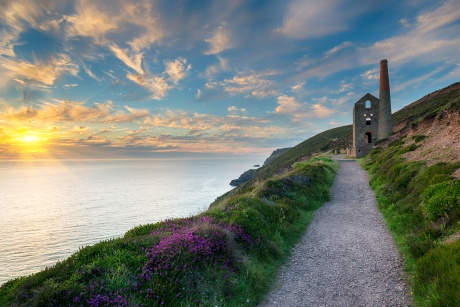 Wheal Coates. a former tin mine.